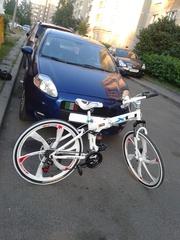 Велосипед на литых дисках Минск