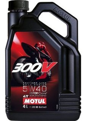 Масло для мотоцикла Motul 300V 4T FL ROAD RACING 5W-40 4L
