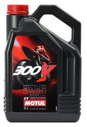 Масло для мотоцикла Motul 300V 4T FL ROAD RACING 5W-30 4L